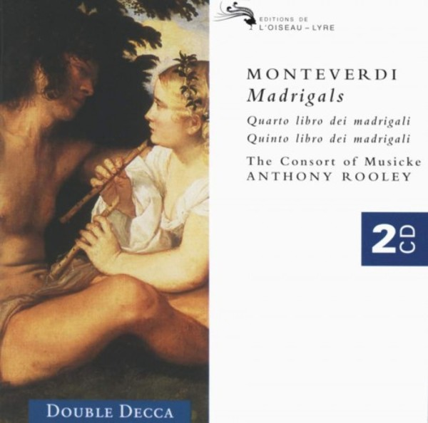 Monteverdi - Fourth and Fifth Books of Madrigals | Decca - Double Decca 4557182