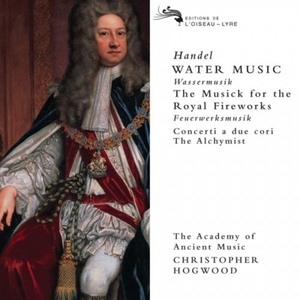 Handel - Water Music, Music for the Royal Fireworks, etc. | Decca - Double Decca E4557092
