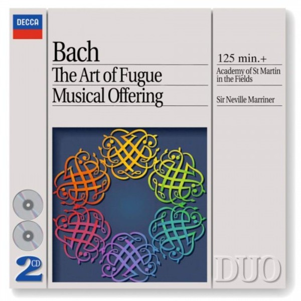 JS Bach - The Art of Fugue, Musical Offering | Philips - Duo 4425562