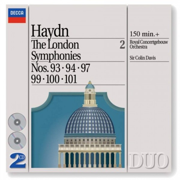 Haydn - The London Symphonies Vol.2: Nos. 93, 94, 97 & 99-101 | Philips - Duo 4426142