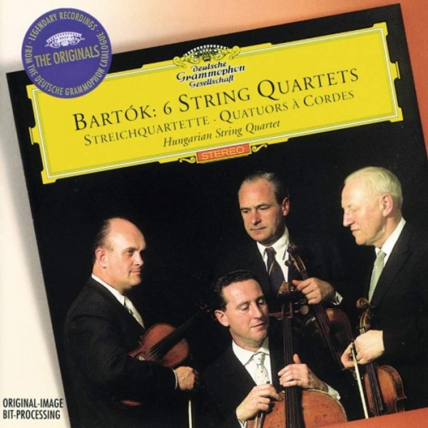 Bartok - 6 String Quartets | Deutsche Grammophon - Originals E4577402