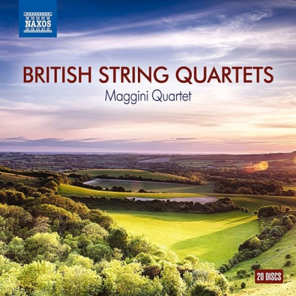 British String Quartets | Naxos 8502021