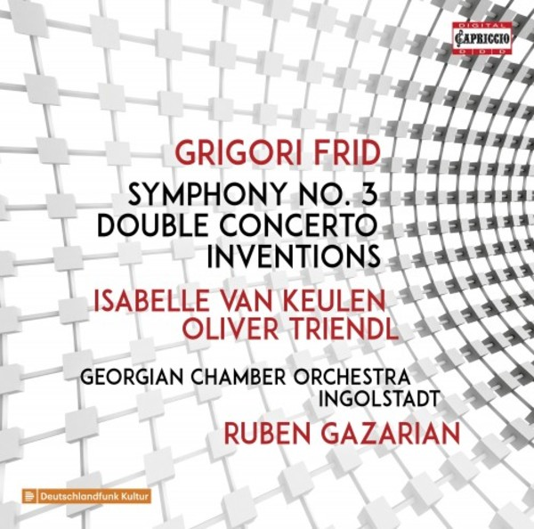 Frid - Symphony no.3, Double Concerto, Inventions