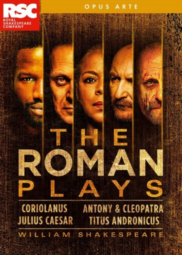 Shakespeare - The Roman Plays (DVD)