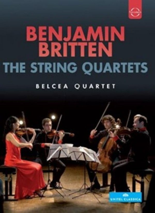 Britten - The String Quartets (DVD)