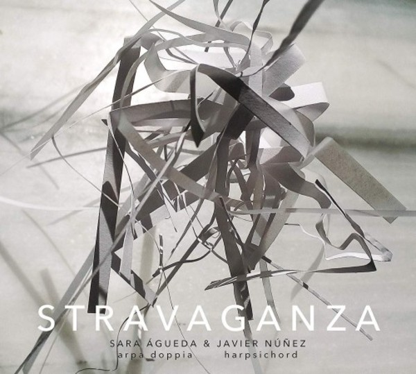 Stravaganza: Music for double harp and harpsichord | Dux DUX1567