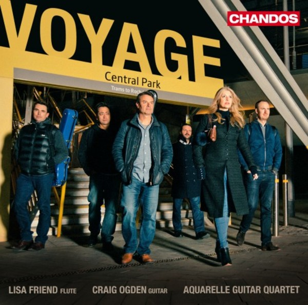 Voyage: Music for Flute and Guitars | Chandos CHAN20037
