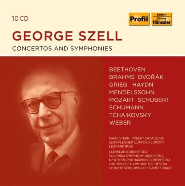 George Szell conducts Concertos and Symphonies