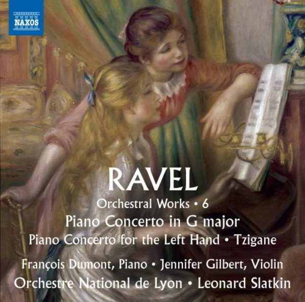 Ravel - Orchestral Works Vol.6: Piano Concertos, Tzigane