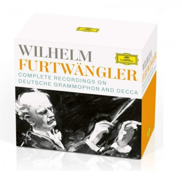 Wilhelm Furtwangler: Complete Recordings on DG and Decca (CD + DVD) | Deutsche Grammophon 4837288