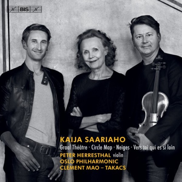 Saariaho - Circle Map, Graal Theatre & other works