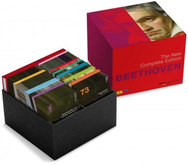 Beethoven - The New Complete Edition (CD + Blu-ray Audio + DVD)