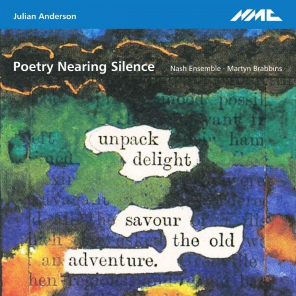 Julian Anderson - Poetry Nearing Silence