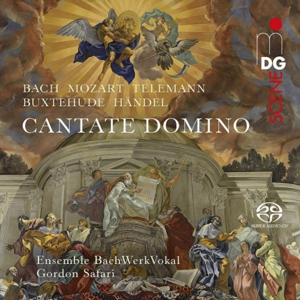 Cantate Domino: Cantatas & Motets by JS Bach, Mozart, Telemann, Buxtehude & Handel