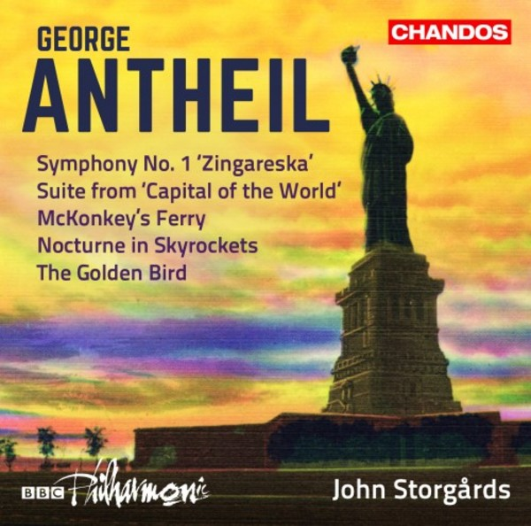 Antheil - Orchestral Works Vol.3: Symphony no.1, etc.