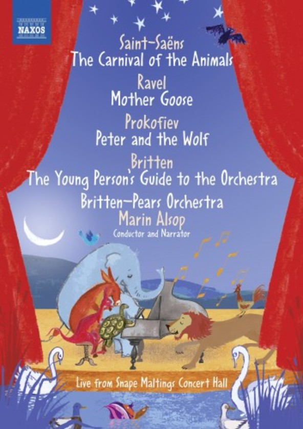 Saint-Saens - Carnival of the Animals; Prokofiev - Peter and the Wolf, etc. (DVD)