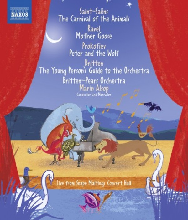 Saint-Saens - Carnival of the Animals; Prokofiev - Peter and the Wolf, etc. (Blu-ray)
