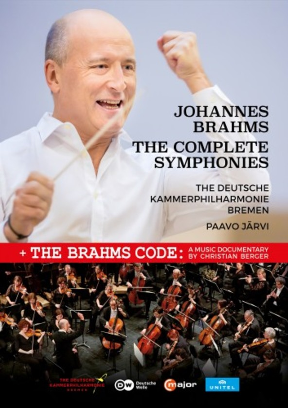 Brahms - The Complete Symphonies (DVD)