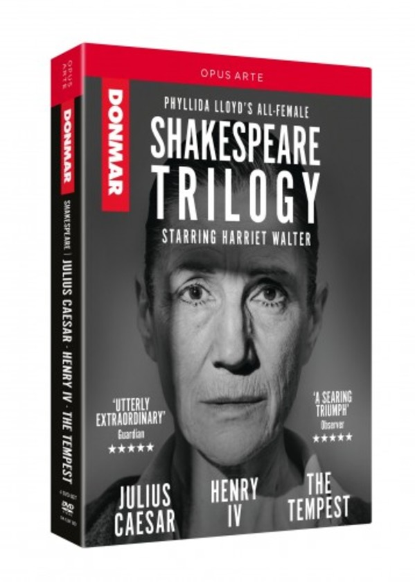 Donmar Warehouse Shakespeare Trilogy (DVD)