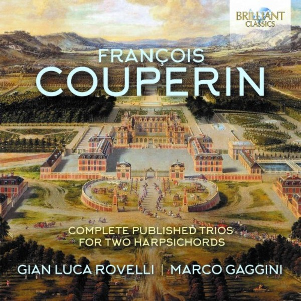 F Couperin - Complete Published Trios for 2 Harpsichords
