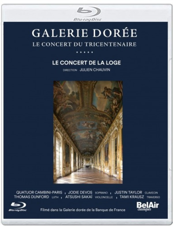 Galerie doree: The 300th Anniversary Concert (Blu-ray)