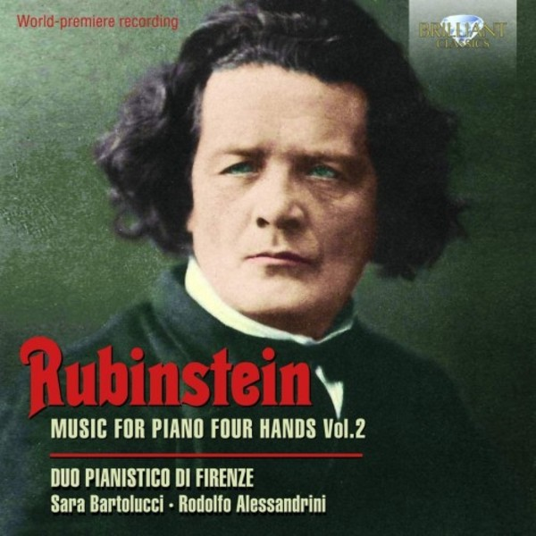 Rubinstein - Music for Piano Four Hands Vol.2