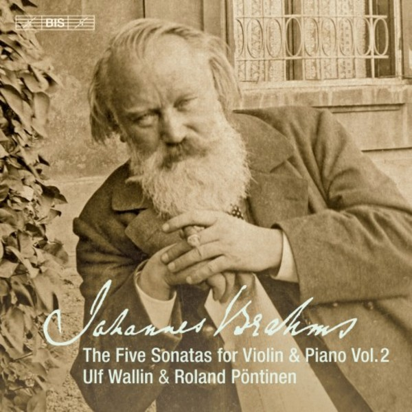 Brahms - The Five Sonatas for Violin & Piano Vol.2