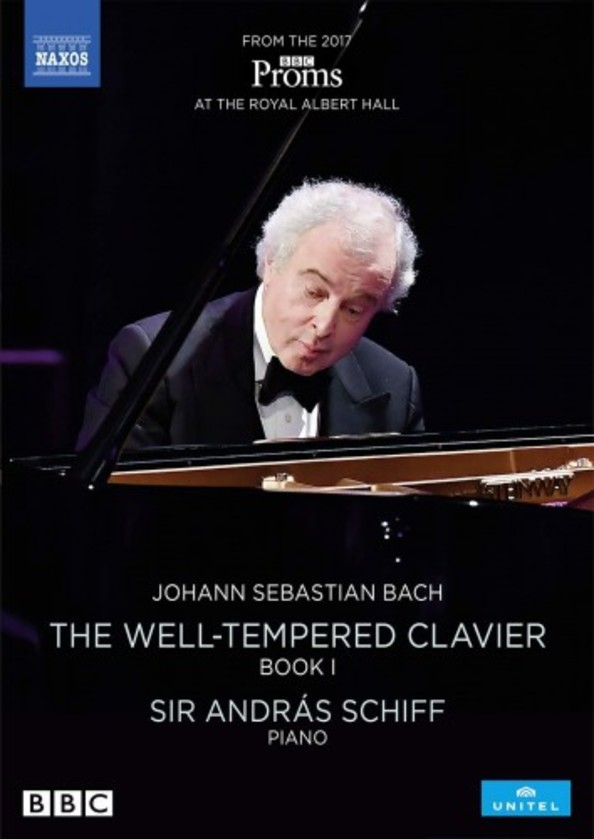 JS Bach - The Well-Tempered Clavier Book 1 (DVD) | Naxos - DVD 2110653