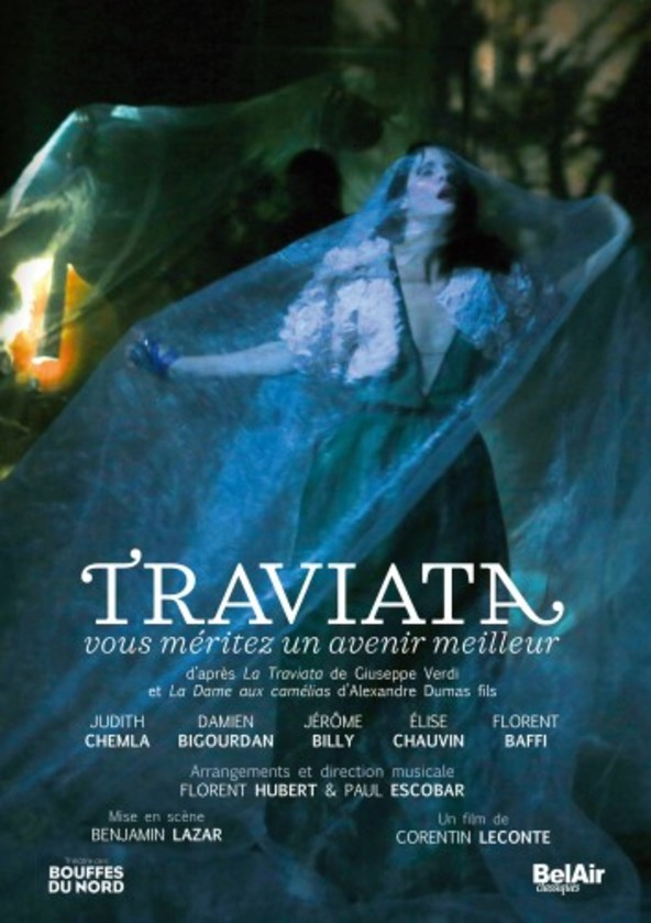 Lazar (after Verdi) - Traviata: You Deserve a Better Future (DVD)