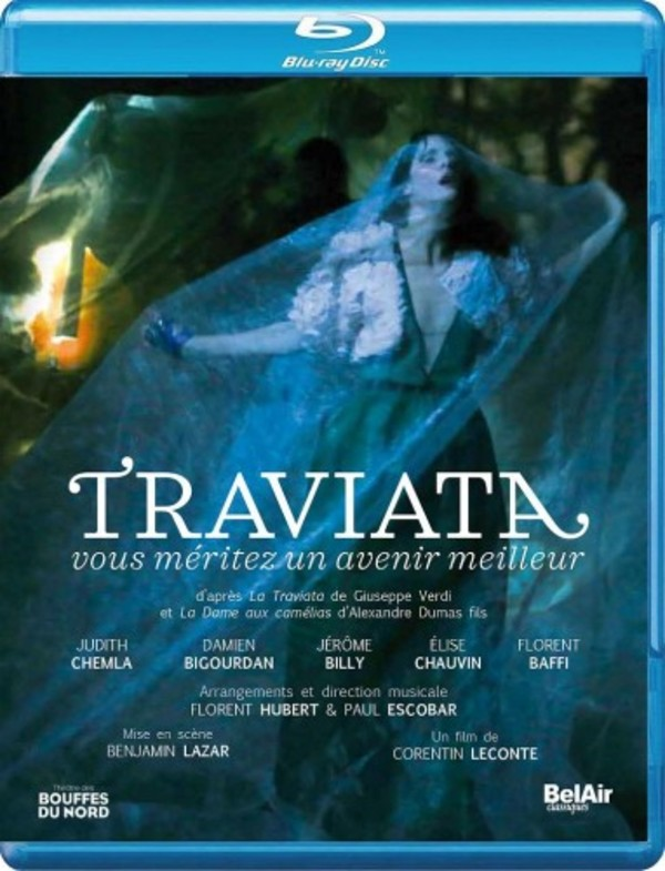 Lazar (after Verdi) - Traviata: You Deserve a Better Future (Blu-ray)