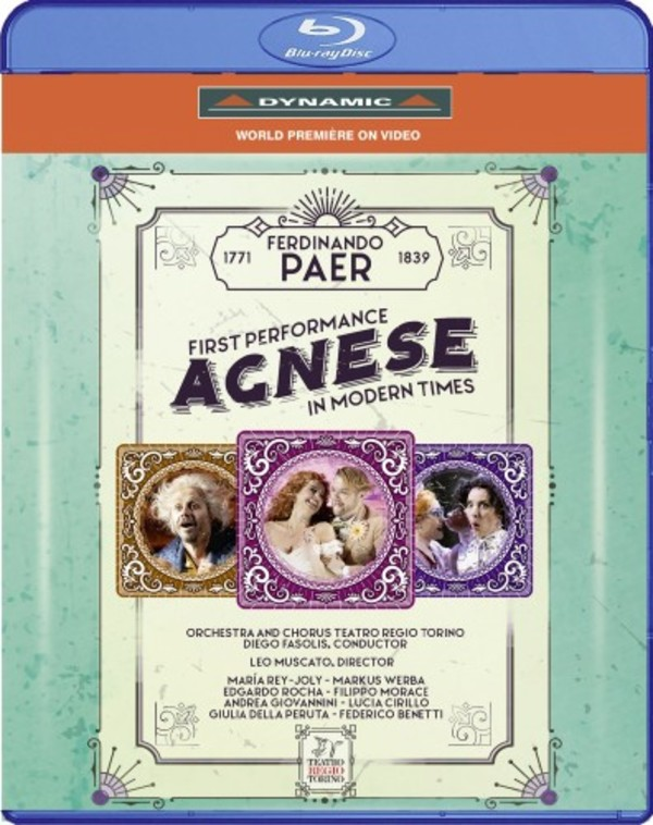 Paer - Agnese (Blu-ray)