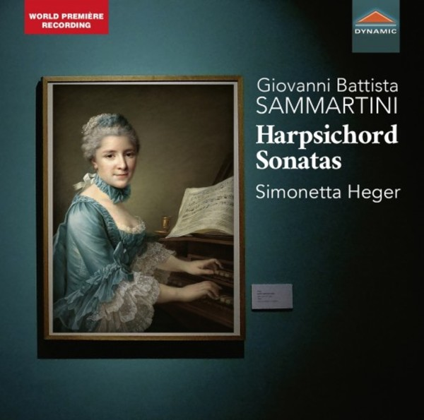 Sammartini - Harpsichord Sonatas | Dynamic CDS7841