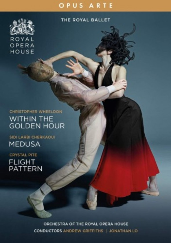 Wheeldon - Within the Golden Hour; Cherkaoui - Medusa; Pite - Flight Pattern (DVD)