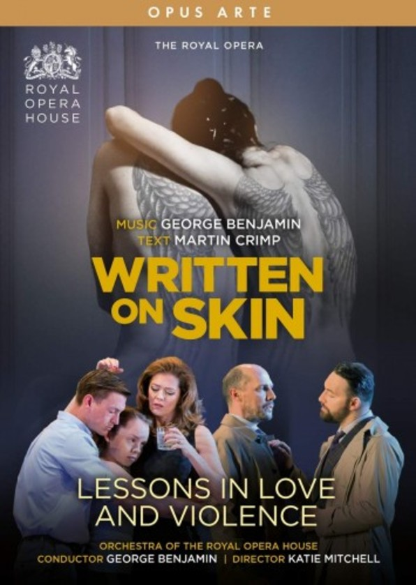 Benjamin - Written on Skin, Lessons in Love and Violence (DVD)
