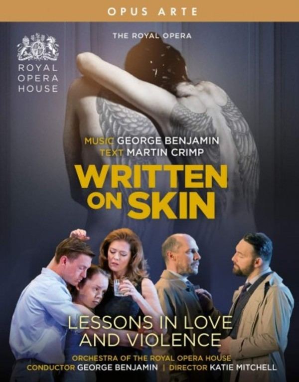 Benjamin - Written on Skin, Lessons in Love and Violence (Blu-ray)