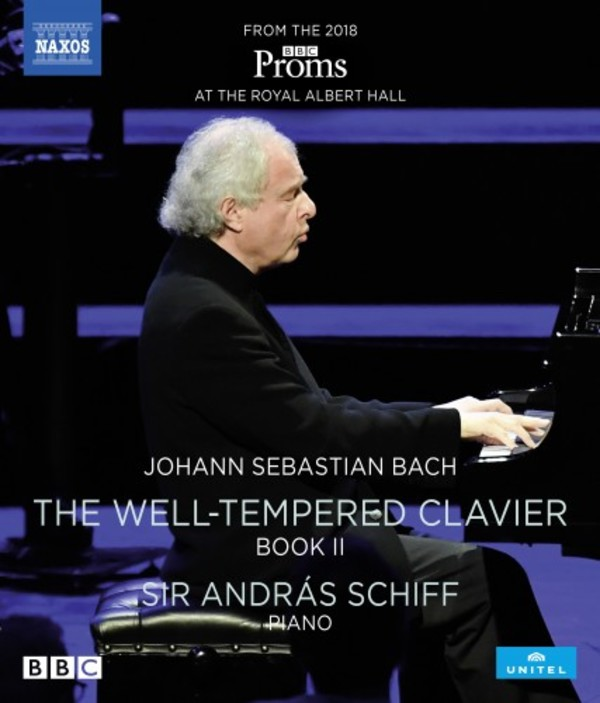 JS Bach - The Well-Tempered Clavier Book 2 (Blu-ray) | Naxos - Blu-ray NBD0105V
