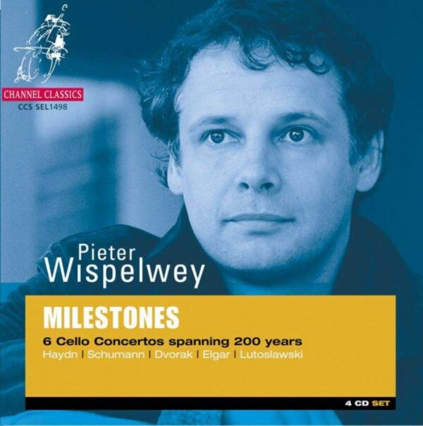 Milestones: 6 Cello Concertos spanning 200 Years | Channel Classics CCSEL1498