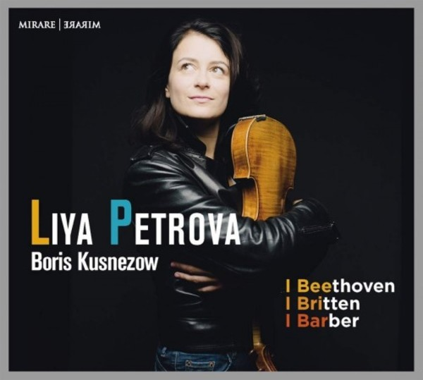 Liya Petrova plays Beethoven, Britten & Barber