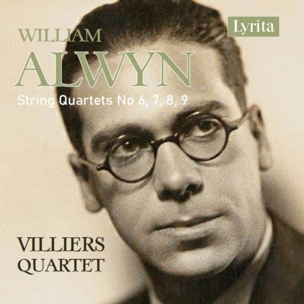 Alwyn - String Quartets 6-9 | Lyrita SRCD386