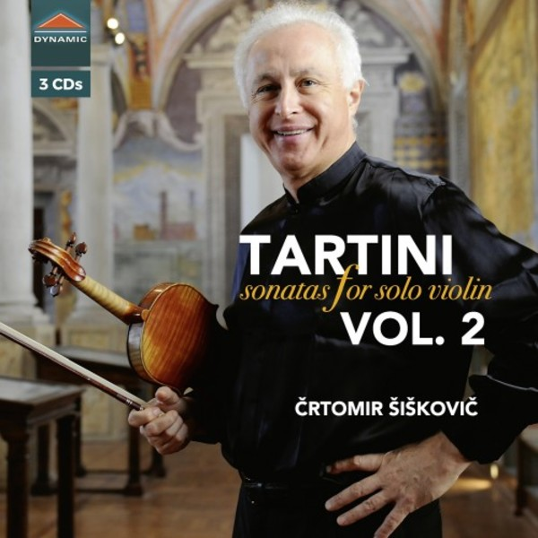 Tartini - Sonata for Solo Violin Vol.2