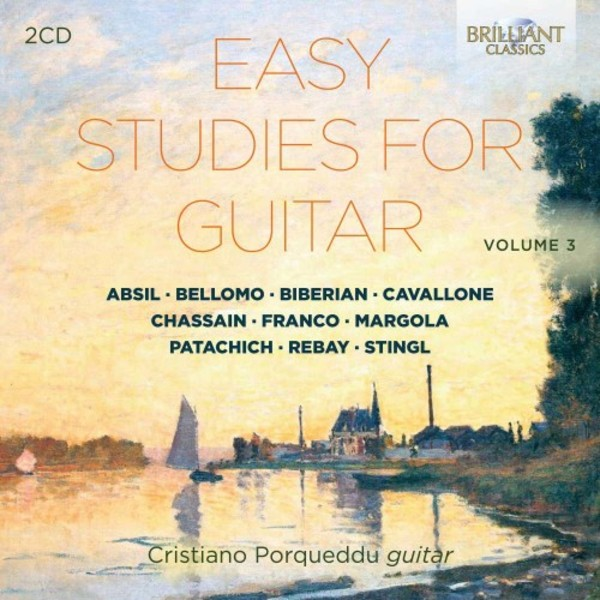 Easy Studies for Guitar Vol.3 | Brilliant Classics 95828