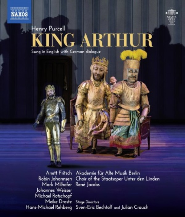 Purcell - King Arthur (Blu-ray)