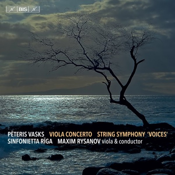 Vasks - Viola Concerto, String Symphony �Voices�