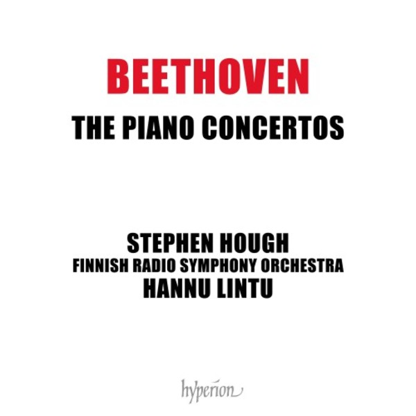 Beethoven - The Piano Concertos | Hyperion CDA682913