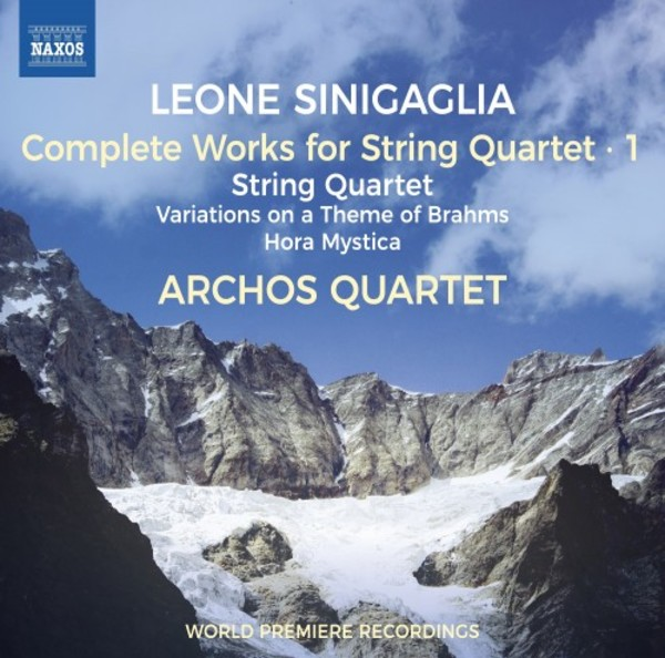 Sinigaglia - Complete Works for String Quartet Vol.1