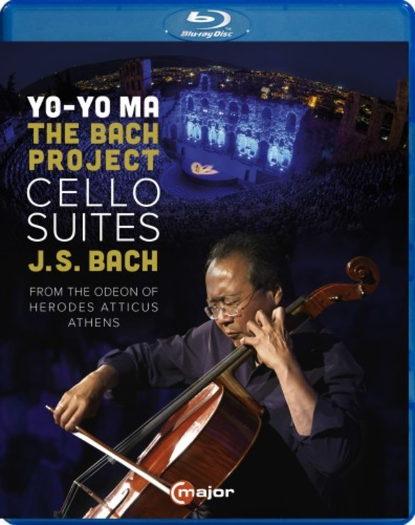 JS Bach - The Cello Suites (Blu-ray)
