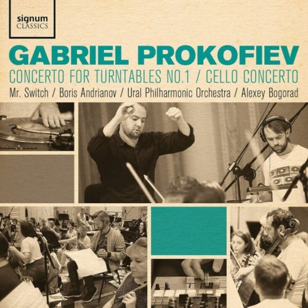 G Prokofiev - Concerto for Turntables no.1, Cello Concerto
