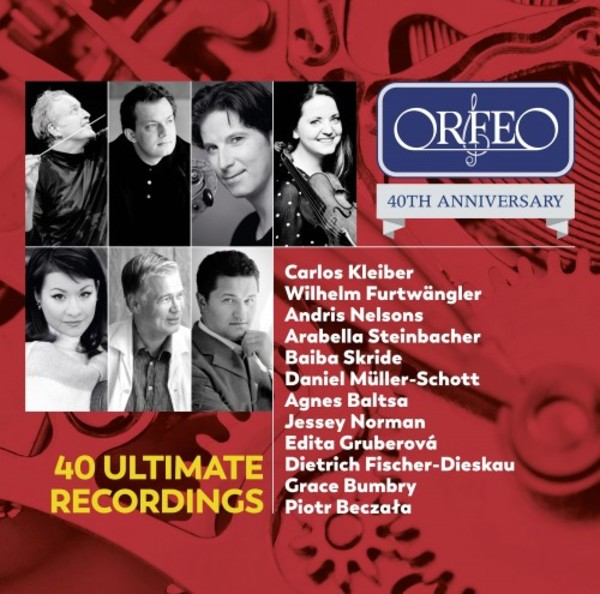 Orfeo 40th Anniversary: 40 Ultimate Recordings | Orfeo C200032