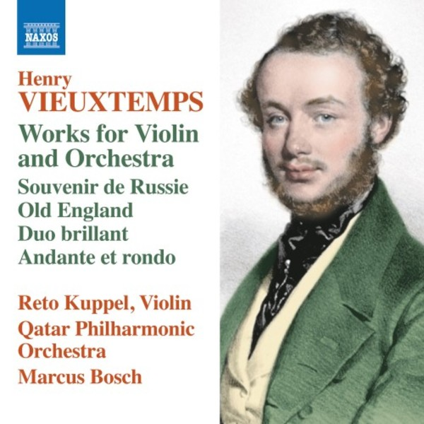 Vieuxtemps - Works for Violin and Orchestra: Souvenir de Russie, Duo brilliant, etc.
