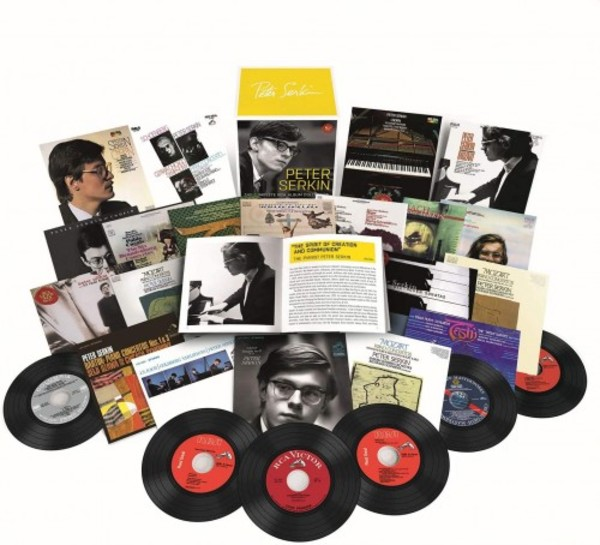 Peter Serkin: The Complete RCA Album Collection | Sony 19439713872